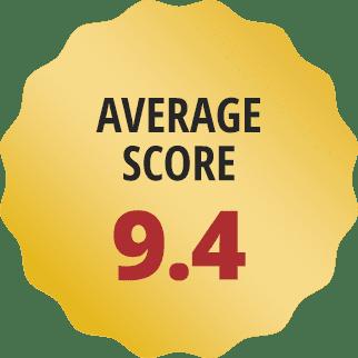 Average score: 9.4